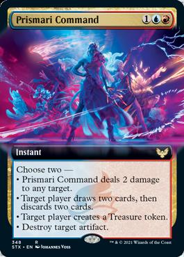 STX 348 Prismari Command Extended Art