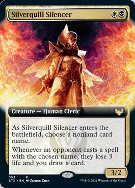 STX 353 Silverquill Silencer Extended Art