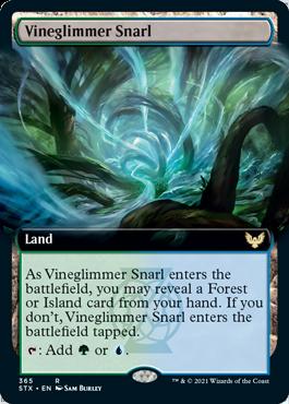 STX 365 Vineglimmer Snarl Extended Art