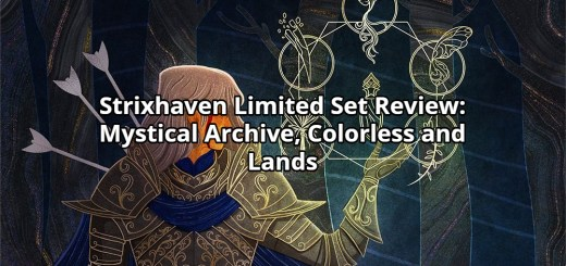 Strixhaven Limited Set Review: Mystical Archive, Colorless and Lands