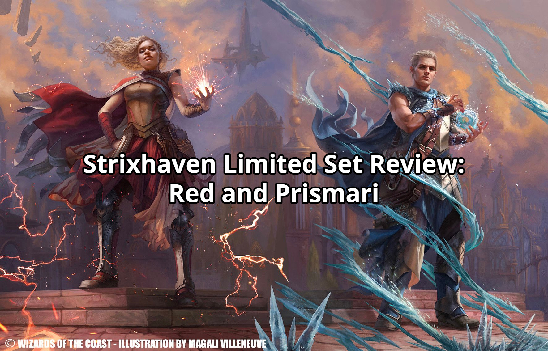 Strixhaven Limited Set Review: Red and Prismari
