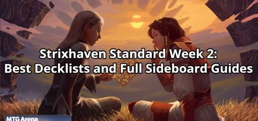 Strixhaven Standard Week 2: Best Decklists and Full Sideboard Guides Premium