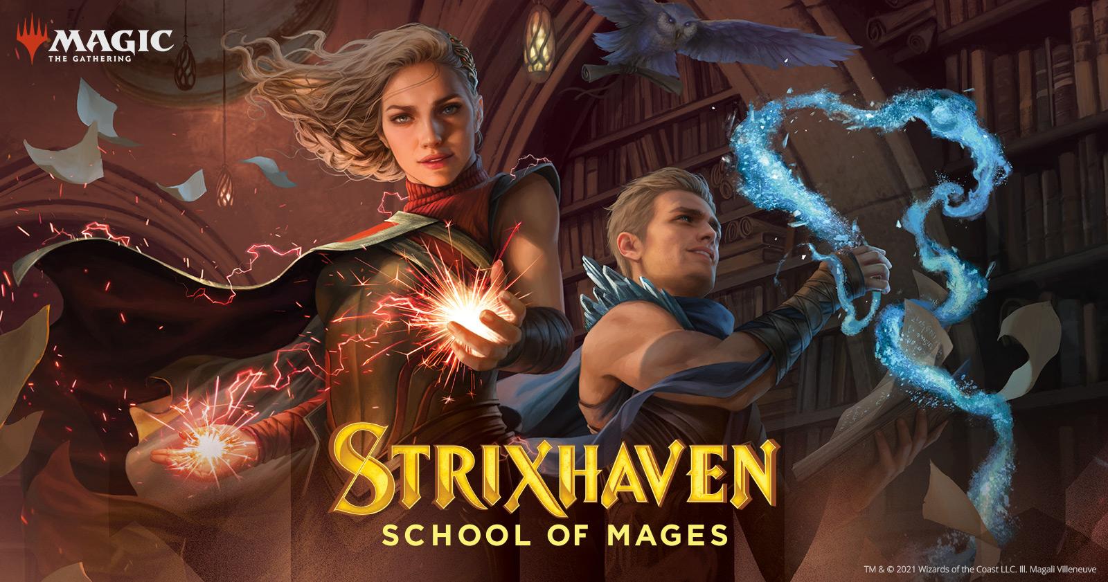 Strixhaven Key Art