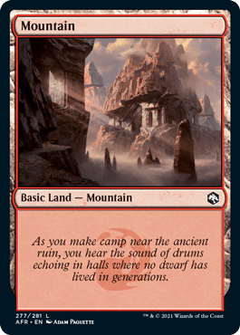 AFR 277 Mountain Main