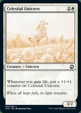 AFR 005 Celestial Unicorn Main