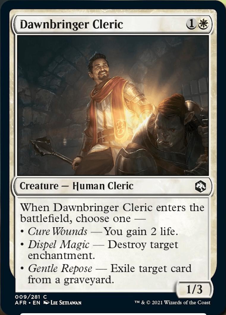 AFR 009 Dawnbringer Cleric Main
