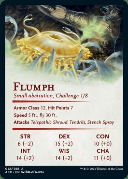 AFR 012 Flumph Artcard Side B