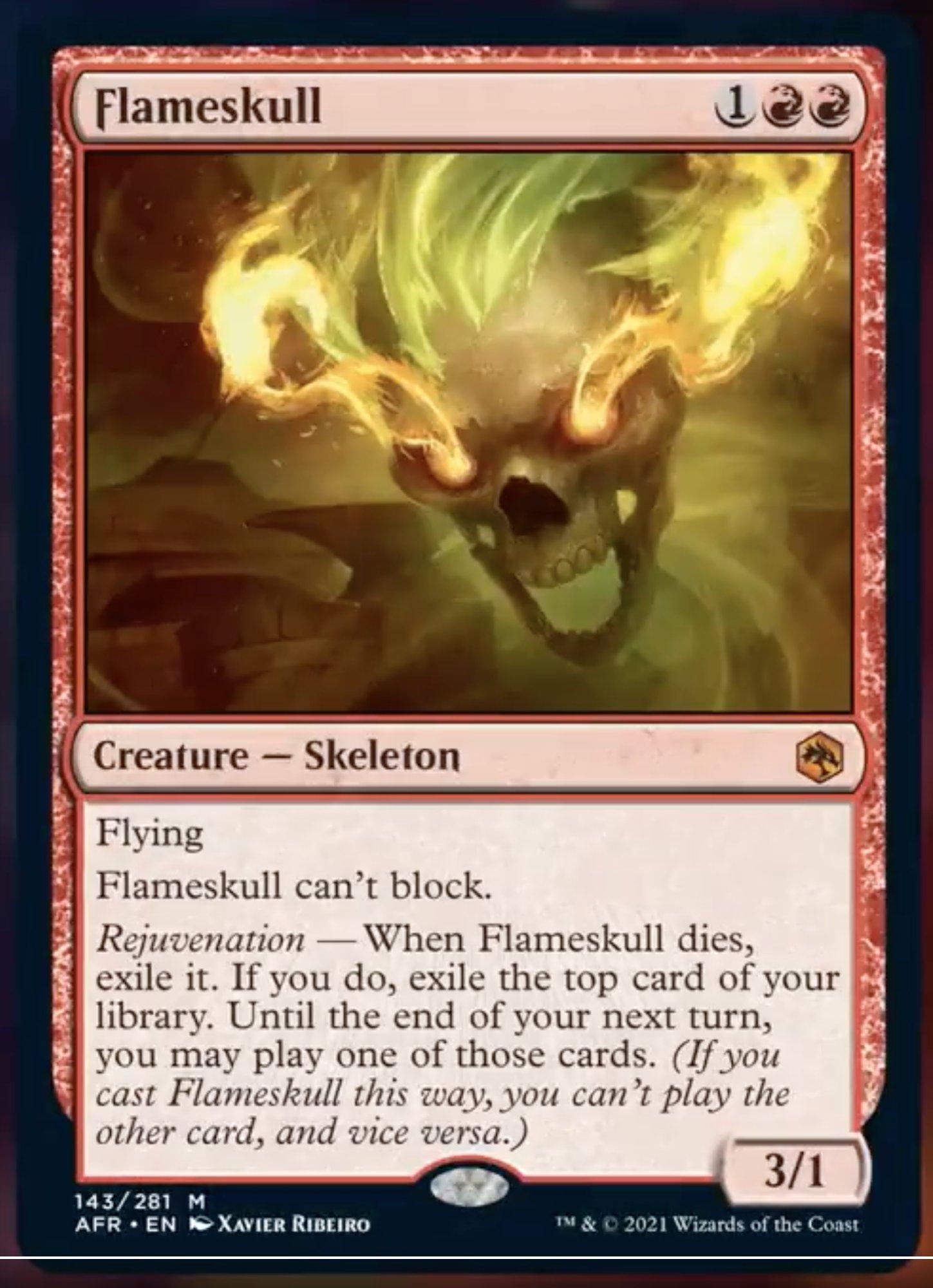 AFR 143 Flameskull Main