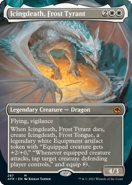 AFR 287 Icingdeath, Frost Tyrant Borderless
