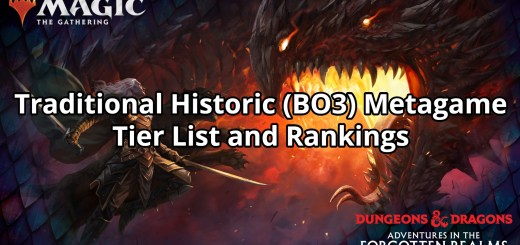 Traditional Historic (BO3) Metagame Tier List and Rankings
