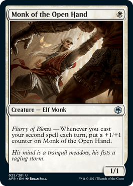 AFR 025 Monk of the Open Hand Main
