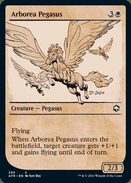AFR 299 Arborea Pegasus Showcase