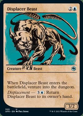 AFR 305 Displacer Beast Showcase