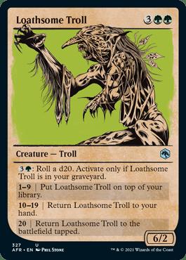 AFR 327 Loathsome Troll Showcase