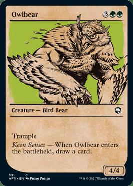 AFR 331 Owlbear Showcase