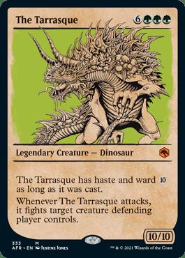 AFR 333 The Terrasque Showcase