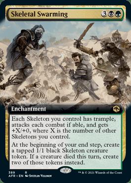 AFR 389 Skeletal Swarming Extended