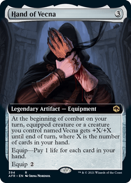 AFR 394 Hand of Vecna Extended