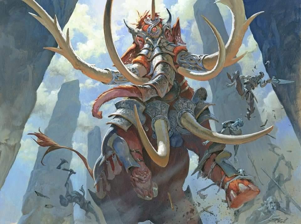 Battle Mammoth Art by Jesper Ejsing