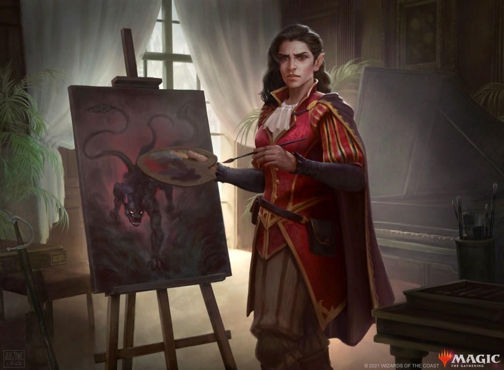 Kalain, Reclusive Painter Art by Justine Cruz