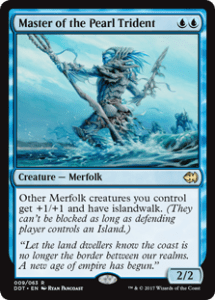 Master of the Pearl Trident J21 Reprint
