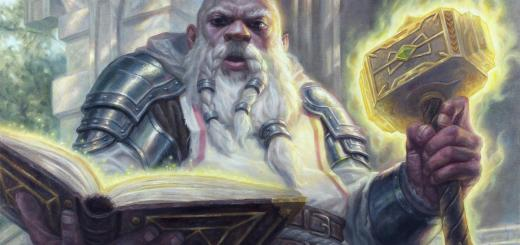 Priest of Ancient Lore Art by Jarel Threat
