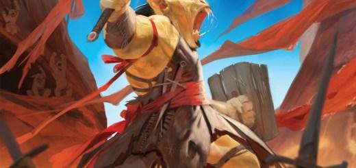 Battle Cry Goblin Art by April Prime