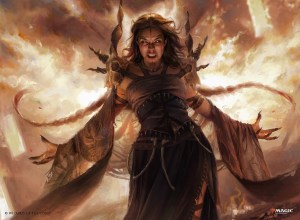 Dragon's Rage Channeler Art by Martina Fackova