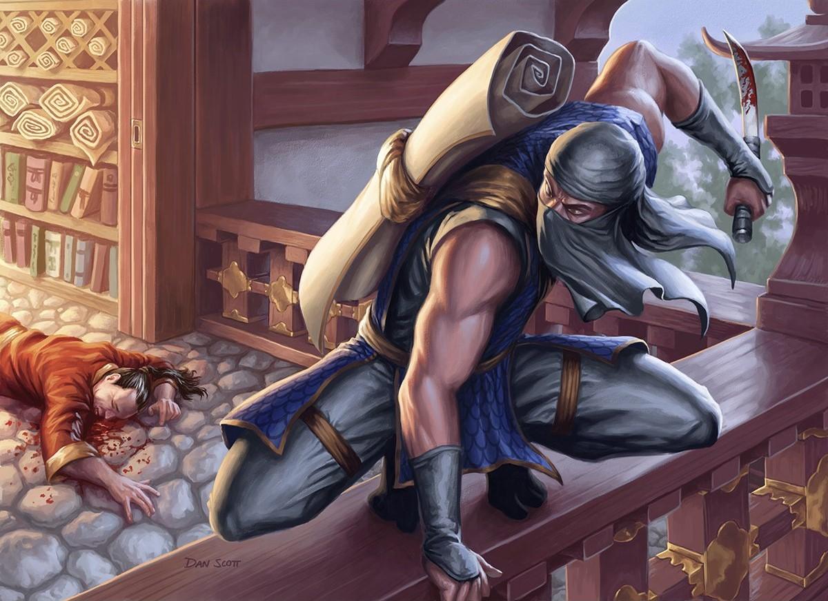 Ninja of the Deep Hours Art by Dan Scott