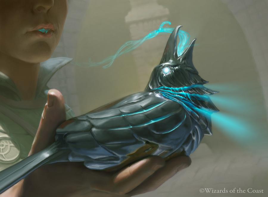 Silver Raven Art by Joe Slucher