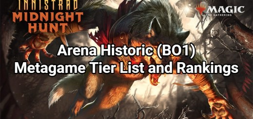 Arena Historic (BO1) Metagame Tier List and Rankings - Innistrad: Midnight Hunt