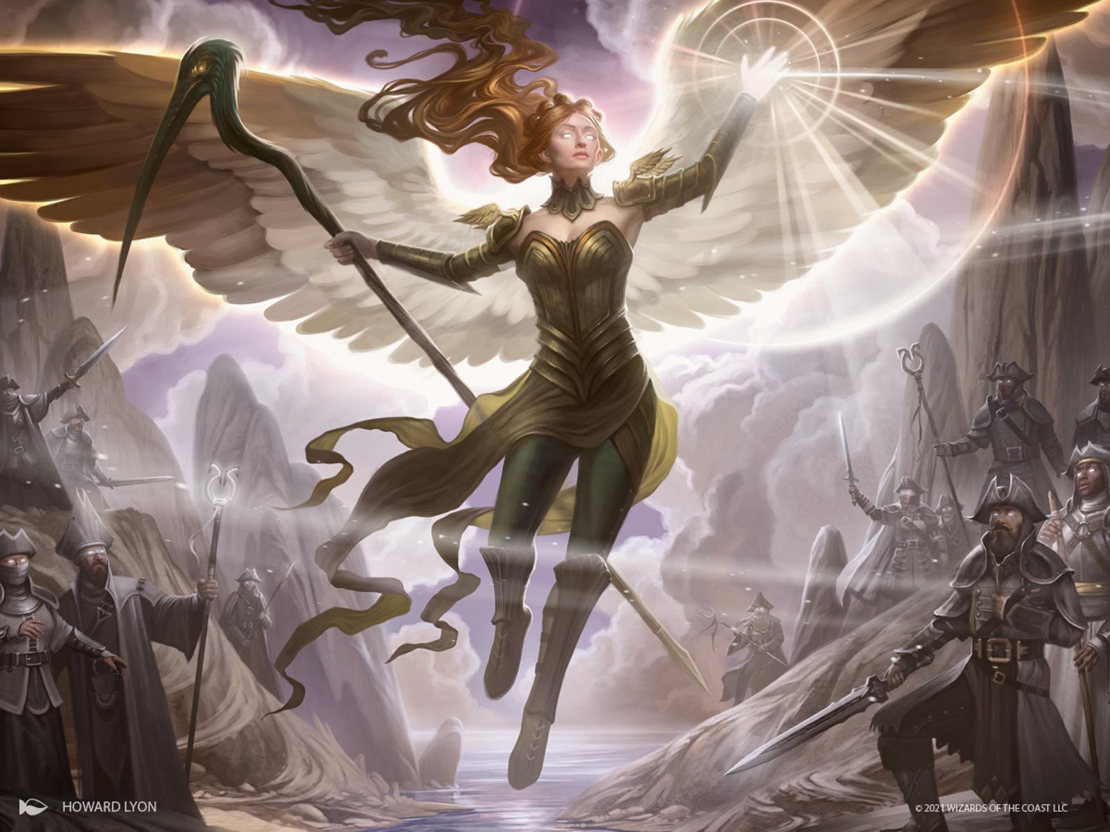 Sigarda's Splendor Art by Howard Lyon