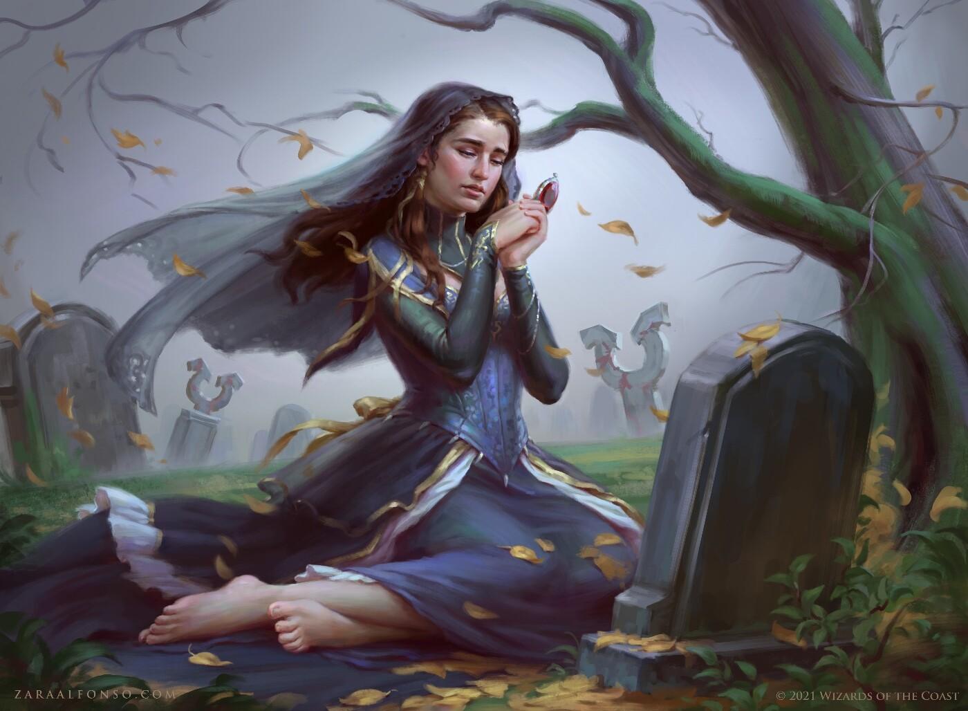 Bereaved Survivor Art by Zara Alfonso