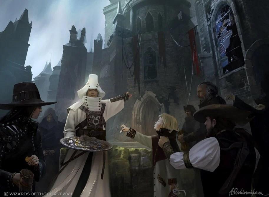 Chaplain of Alms Art by Anastasia Ovchinnikova