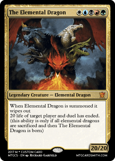 the elemental dragon by