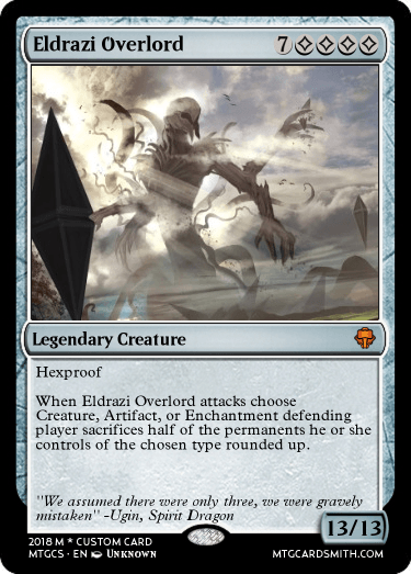 eldrazi overlord by johnclark1944