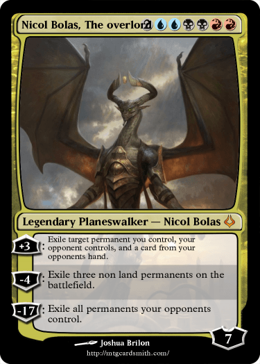 nicol bolas the overlord