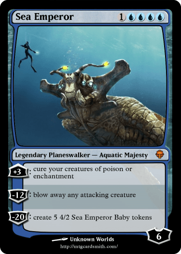 sea emperor by kittencupcake