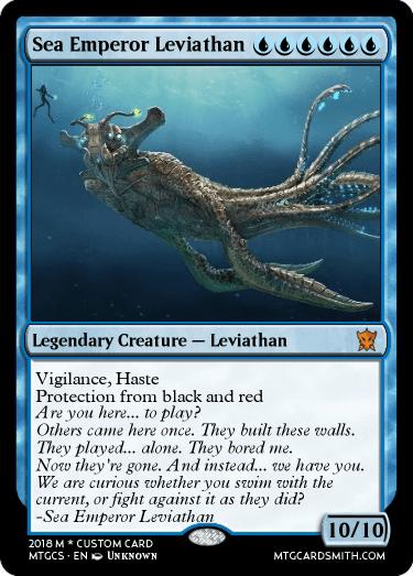 sea emperor leviathan by