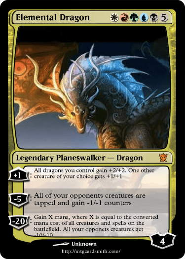 elemental dragon by kingofdragons