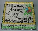 Happy 75 Anniversary Cake NL