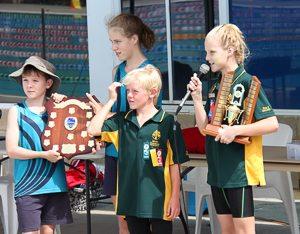 Interschool Swimming Champion Team-8
