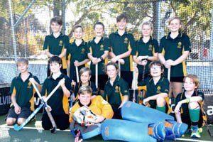 Interschool Hockey Team