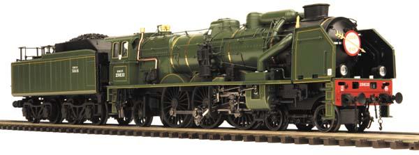 Check Out The Details MTH Premier Line Chapelon Pacific Steam Locomotive  MTH ELECTRIC TRAINS