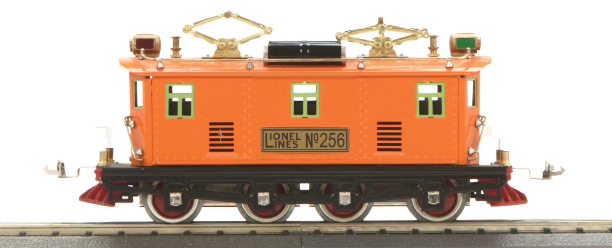 hight resolution of o gauge lionel corporation tinplate 256 electric traditional orange 256 electric traditional orange