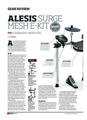 Alesis Surge Mesh Kit Bundle