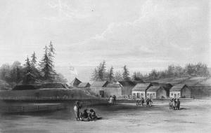 Fort Vancouver 1845