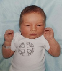 My son's first picture