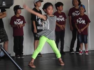 第五陣越前おおのとんちゃん祭のスタッフをしました。 素晴らしいダンスを披露する選手たち/どこまでもアマチュア