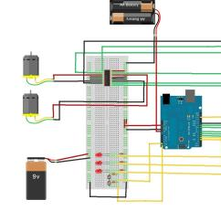 Breadboard Wiring Diagram Basic Carbon Cycle Seekie Spiderbot Mtifall10